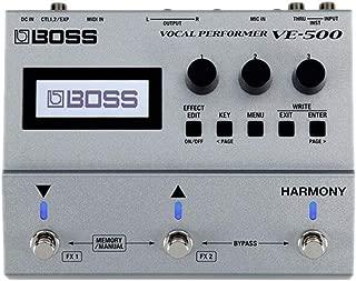 BOSS Vocal Performer Effects Processor Guitar Pedal (VE-500)