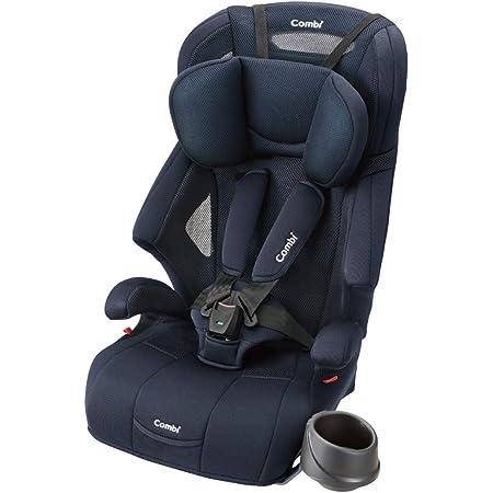 Combi(コンビ) シートベルト固定 チャイルド&ジュニアシート 1歳頃から11歳頃まで ジョイトリップ エアスルー GH ネイビー 通気性に優れたエアスルーモデル