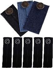 Pantalones elásticos ajustables, extensores de cintura y pantalones