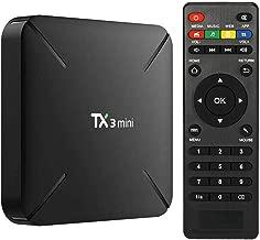 TV Box Android 7.1 TX3 Mini, 1GB 8GB Amlogic S905W, Quad Core 4K, 2.4GHz WiFi