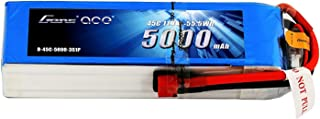 Gens ace 5000mAh 11.1V 3S 45C LiPo Battery Pack with Deans Plug for Mikado LOGO500 Align T-REX550 600 GAUI X5 Outrage 550 Hirobo SDX