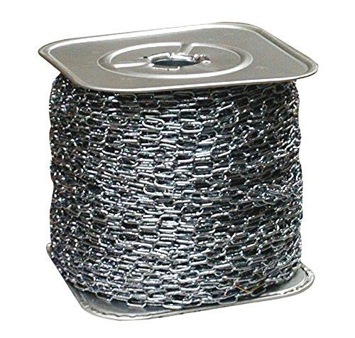 ABUS 500190 500190-BOGEZ10100 Bobina 10m Cadena Genovesa zincada 10 mm