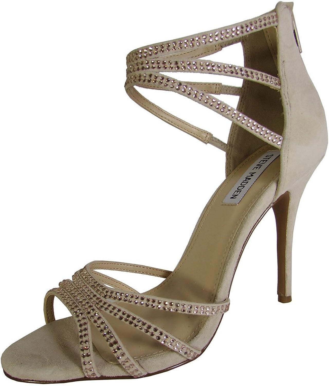 Steve Madden Womens Caperr Stiletto Heel Sandal shoes