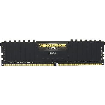 Corsair Vengeance LPX 8GB (2x4GB) DDR4 2133MHz C13 XMP 2.0 High Performance Desktop Arbeitsspeicher Kit, Schwarz