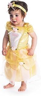 Disney Princesas Princesa Disfraz bebé, Color amarillo, 18-24 Meses (Travis Designs DCPRBE18)