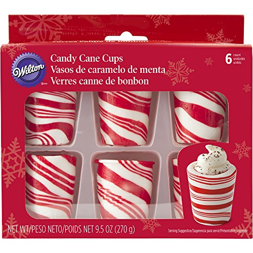 Wilton Candy Cane Cups, 6-Count