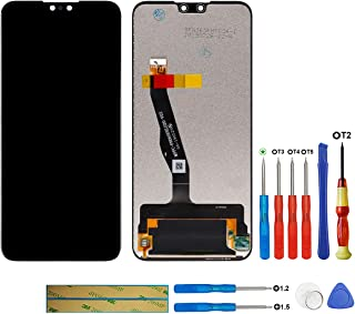 New LCD Display Compatible with Huawei Y9 (2019) JKM-LX1, JKM-LX2, JKM-LX3, JKM-AL00, JKM-TL00, JKM-AL00a, JKM-AL00b (Black) LCD Touch Screen Display + Tools