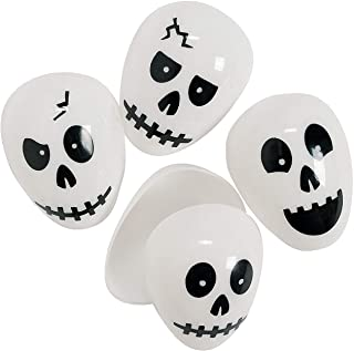 Halloween Skull Easter Eggs (set of 72) Halloween Party Supplies