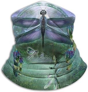 Tie Dye Rainbow Peace Unisex Outdoor Windproof Dust-Proof Neck Warmer Sports Face Mask Bandana Balaclava