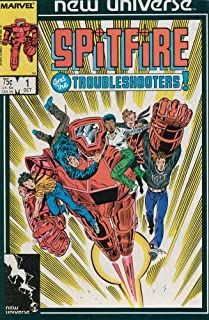 SPITFIRE # 1-13 Complete Story (Spitfire & The Troubleshooters)