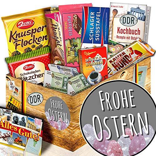 Frohe Ostern / Geschenk Ostern Erwachsene / Geschenk Schokolade DDR