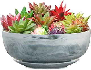 square bowl planter
