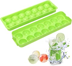 BALERINE NICEYARD 14 Holes Sphere Round Ball Ice Molds Whisky Ice Tray DIY Ice Mold Ice Cream Maker Ice Cube