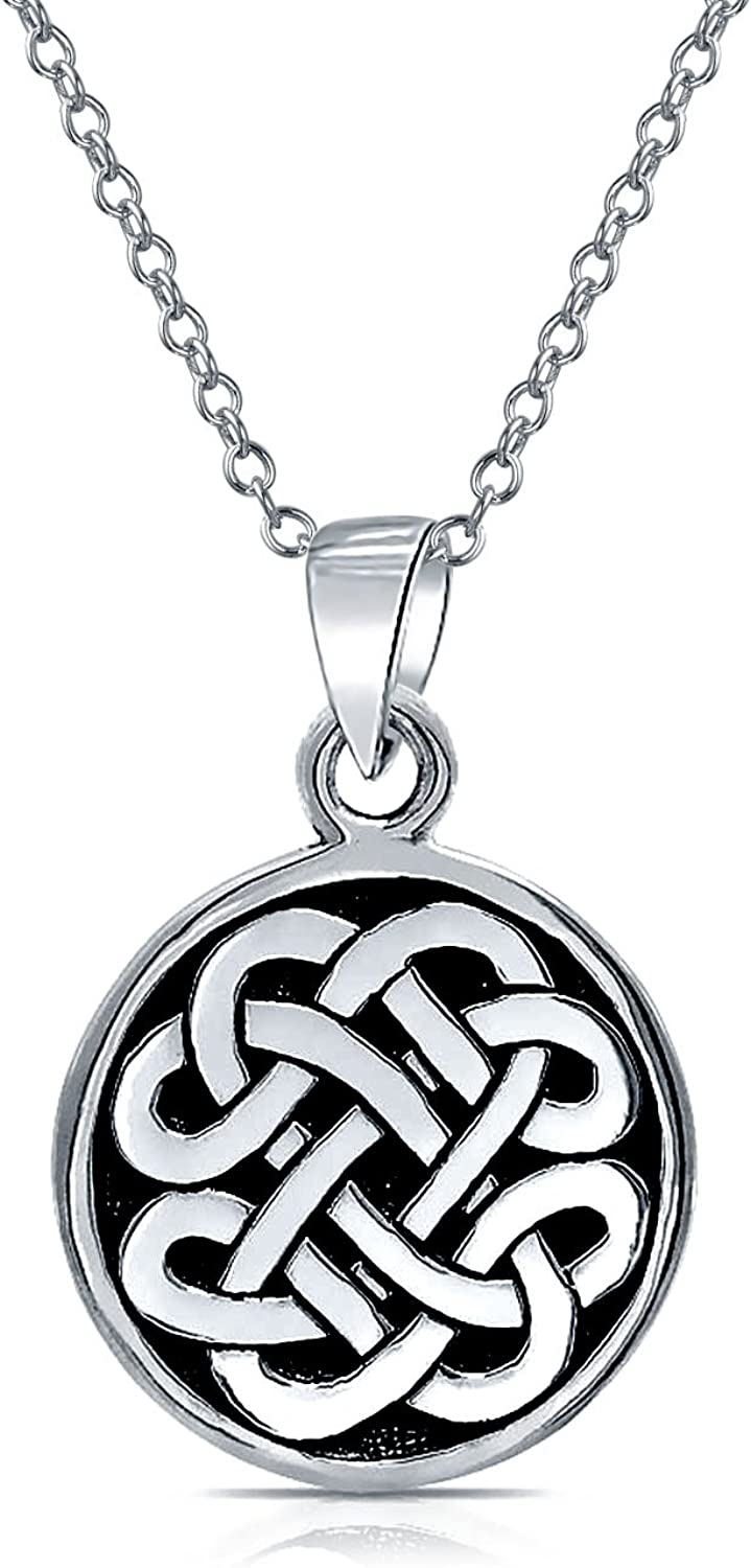 Personalized Ranking TOP17 Engravable Celtic Large-scale sale Knot Irish Circl Round Friendship
