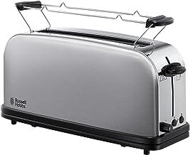 Russell Hobbs Toaster Grille-Pain, Fente Large Spécial Baguette, 6 Niveaux de Brunissage, Fonction Décongèlation - 21396-5...