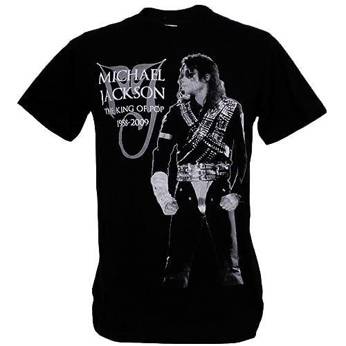 48e37d8896ad opm clothing Michael Jackson King of Pop Dance Star Man T-Shirt