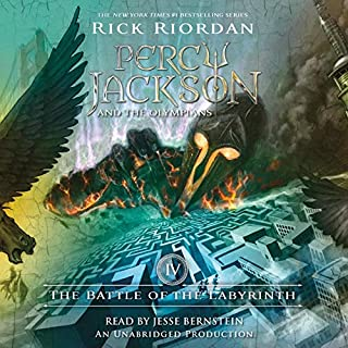 The Battle of the Labyrinth     Percy Jackson and the Olympians, Book 4              Auteur(s):                                                                                                                                 Rick Riordan                               Narrateur(s):                                                                                                                                 Jesse Bernstein                      Durée: 10 h et 32 min     73 évaluations     Au global 4,8