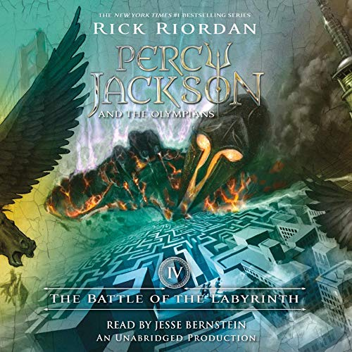 The Battle of the Labyrinth     Percy Jackson and the Olympians, Book 4              By:                                                                                                                                 Rick Riordan                               Narrated by:                                                                                                                                 Jesse Bernstein                      Length: 10 hrs and 32 mins     6,705 ratings     Overall 4.7