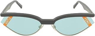Fendi Gentle Fendi Blue Cat Eye Ladies Sunglasses FF0369SKB71P61