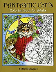 Coloring Book Addict Facebook Group Colors In Her Books Almost Exclusively And They All Look Fantastic If You Are A Cat Lover Going To Want