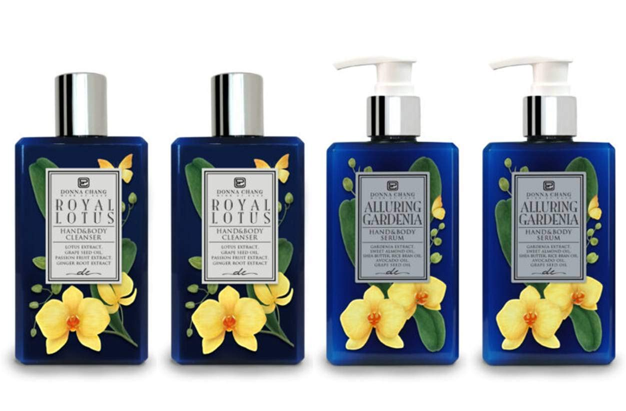 National products Donna Chang Royal We OFFer at cheap prices Lotus Shower Gel and Alluring Gardenia Body Se