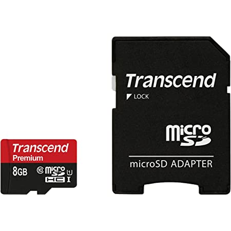 Huawei U8651T Cell Phone Memory Card 8GB microSDHC Memory Card with SD Adapter