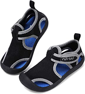 RANLY & SMILY nerteo Kids from Pool to Play Sandals   Toddler Water Shoes