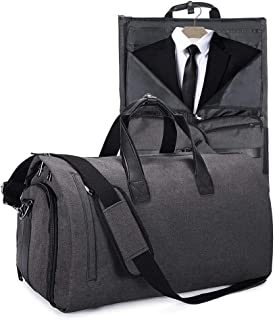 69477c6e0a5e6 Basuwell Suit Travel Bag Suit Bag Carrier Luggage Fresion Garment Bag  Waterproof Suit Carrier Bag with