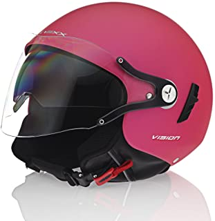 Nexx SX.60 Vision Flex Pink Motorcycle Helmet (Medium)