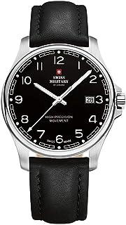 Swiss Military by Chrono - Reloj para Hombre Analógico Cuarzo con Brazalete de Cuero SM30200.24