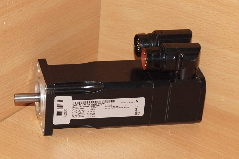 Kollmorgen Bautz Servo Motor AC M256F-0S101-7000-0 Schrittmotor Seidel