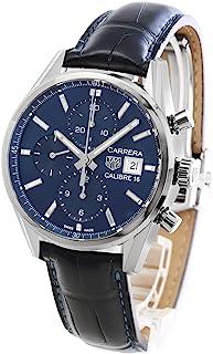 タグホイヤー カレラ クロノグラフ アリゲーターレザー 腕時計 メンズ TAG Heuer CBK2112.FC6292[並行輸入品]