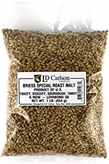 Briess Grain U.S. Brewers Malt for Beer Making & Home Brewing 1 LB (Special Roast)
