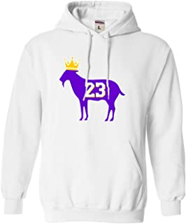 Adult Goat James G.O.A.T. King Sweatshirt Hoodie