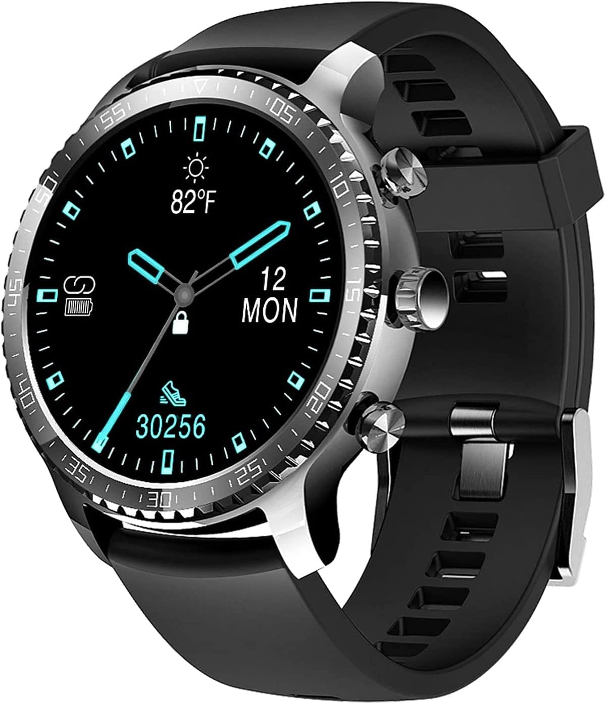 Tinwoo Smart Watch for Men,46mm Support Wireless Charging,Bluetooth Fitness Tracker with Heart Rate Monitor, Smartwatch for Android Phones…