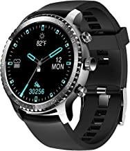 Tinwoo Smart Watch for Men, Support Wireless Charging, Bluetooth Fitness Tracker with Heart Rate Monitor, Smartwatch for A...