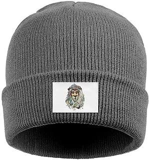Men and Women Watch Beanie Hat Leo Lion Headband Classic Warm Slouchy Knit Cap