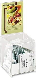 SAF4235CL - Safco Acrylic Collection Box