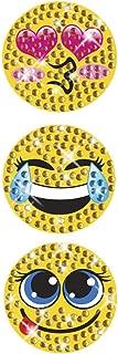 StickerBlingBling Gemz Crystal Rhinestone Mini Emoji Trio Perfect for Water Bottles hydroflasks Phone, Gear, Back to School or as a Birthday Gift