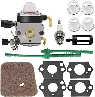 Nrpfell Carburador para Stihl Fs80 Carburador - Stihl Fc55 Fc75 Fc85 Fs310 Fs38 Fs45 Fs45C Fs45L