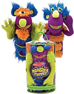 Melissa & Doug Make-Your-Own Monster Puppet 3897 - Puppet & Puppet Theatre