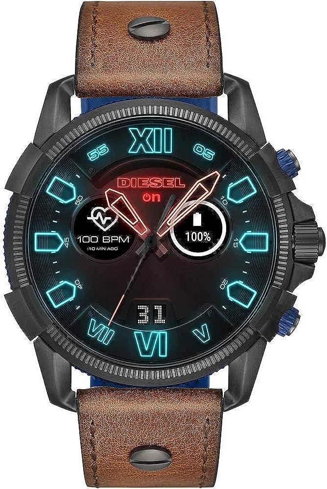 Diesel smartwatch, con wear os by google, google pay, google assistente, monitoraggio del battito cardiaco DZT2009