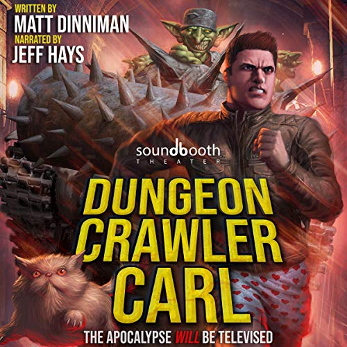 Dungeon Crawler Carl cover art