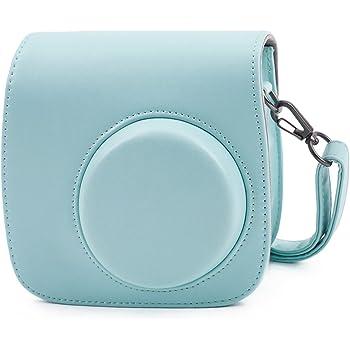 Cobalt Blue Anter Tasche f/ür Fujifilm Instax Mini 11 Mini 8 8+//Mini 9 Sofortbildkamera aus Weichem Kunstleder mit Schulterriemen und Tasche