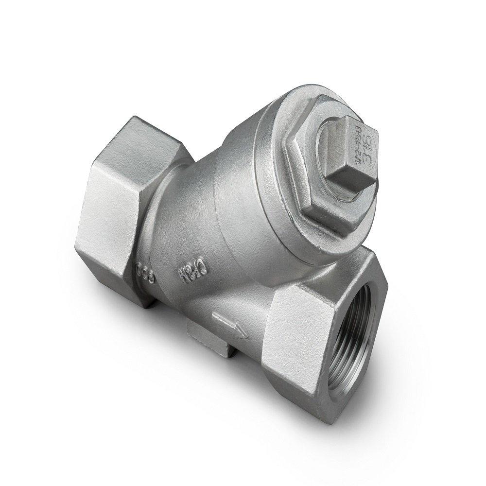 Merit Brass WYE-16 1 600 psi Stainless Steel Y-Strainer Ashton Sutton