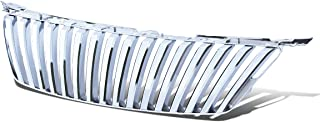 Chrome Badgeless Vertical Style Front Upper Bumper Grille for Lexus IS250 IS350 06 07 08 2006 2007 2008