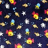 Swafing Wellness Fleece Fische Unterwasserwelt Nemo