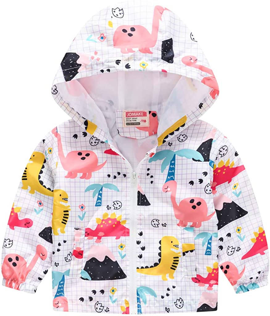 TUIJI Genuine Free Shipping Toddler Boys Girls Cartoon Zip Jacket Hooded Challenge the lowest price of Japan Print Trench