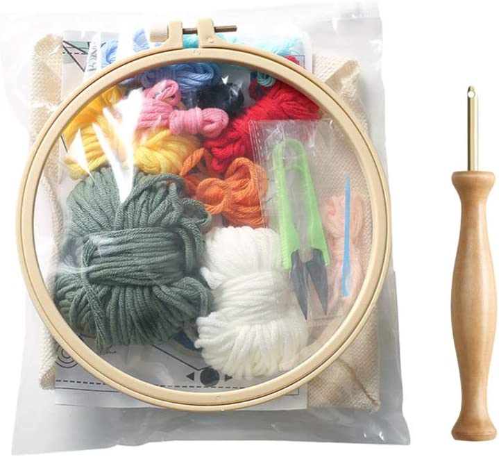 Exceart Punch Embroidery NEW Kansas City Mall before selling Starter Kits Set