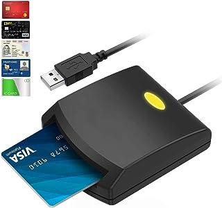 【令和最新版】接触型ICカードリーダーライタ ICチップのついた住民基本台帳カード 国税電子申告・納税シ ステム e-Tax、地方税電子手続き等に対応 自宅で確定申告 USB接続 マイナンバーカード、住基カードに対応